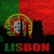 View of Lisbon - Stock Photo