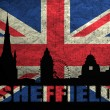 View of Sheffield — Stock Photo