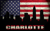 View of Charlotte City — Stock Photo