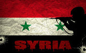 Syrian conflict — Stock Photo