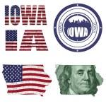 Iowa state collage — Stock Photo #26574273
