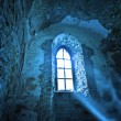 Mysterious ancient window — Stock Photo #29094415