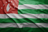 Flag of Abkhazia — Stock Photo