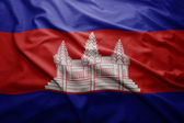 Flag of Cambodia — Stock Photo