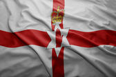 Flag of Northern Ireland — Stock Photo