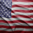 Stock Photo: Flag of United states of america