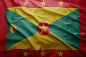 Flaga Grenady — Zdjęcie stockowe