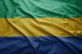Flag of Gabon — Stock Photo
