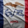 Stock Photo: Flag of Iowstate
