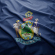 Flag of Maine state — Stock Photo