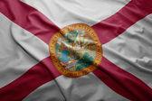 Flag of Florida state — Stock Photo