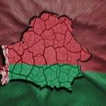 Belarus Map — Stock Photo