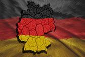 German Map — Stock Photo