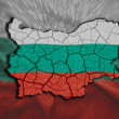 Bulgarian Map — Stock Photo