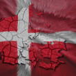 Danish Map — Stock Photo #33078203