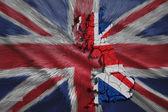Brytyjski mapa — Zdjęcie stockowe