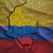 Colombian Map — Stock Photo