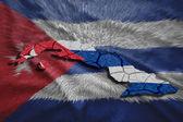 Kubánské mapa — Stock fotografie