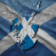 Scottish Map — Stock Photo