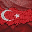 Turkish Map — Stock Photo