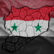 Syrian Map — Stock Photo