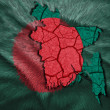 Bangladesh Map — Stock Photo