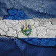 El Salvador Map — Stock Photo