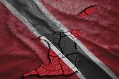 Trinidad and Tobago Map — Stock Photo