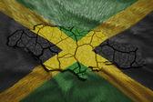 Jamaican Map — Stock Photo