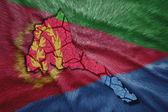Eritrean Map — Stock Photo