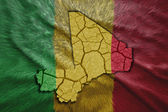 Malian Map — Stock Photo