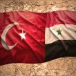 Turkey and Syria — Stock Photo