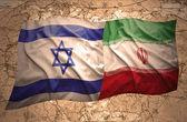 Israel and Iran — Stock Photo