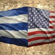 United States of America and Cuba — Stock Photo
