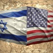 United States of America and Israel — Stock Photo