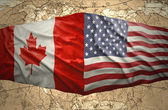 United States of America and Canada — Stock Photo