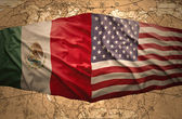 United States of America and Mexico — Stock Photo