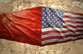 United States of America and China — Stock Photo