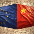 Stock Photo: European Union and China