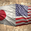 Stock Photo: United States of Americand Japan