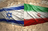 Israel and Iran — Stock Photo