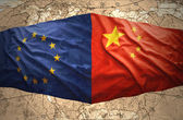 European Union and China — Stock Photo