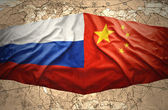 Russia and China — Stock Photo