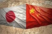 Japan and China — Stock Photo