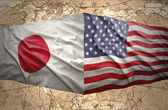 United States of America and Japan — Stock Photo