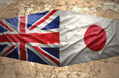 United Kingdom and Japan — Stock Photo