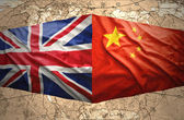 United Kingdom and China — Stock Photo