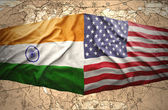 United States of America and India — Stock Photo