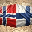 Finland and Norway — Stock Photo