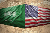 Saudi Arabia and United States of America — Stock Photo